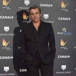 Eduard Fernández en la alfombra roja de los Premios Feroz 2015