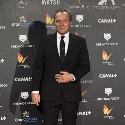 José Coronado en la alfombra roja de los Premios Feroz 2015