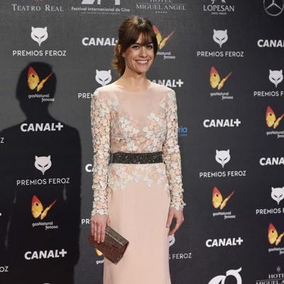 Alexandra Jiménez en la alfombra roja de los Premios Feroz 2015