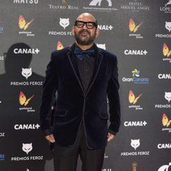 José Corbacho en la alfombra roja de los Premios Feroz 2015