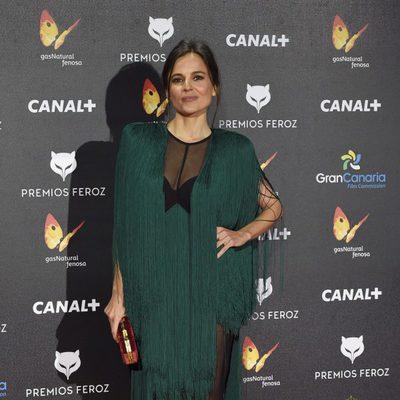 Elena Anaya en la alfombra roja de los Premios Feroz 2015