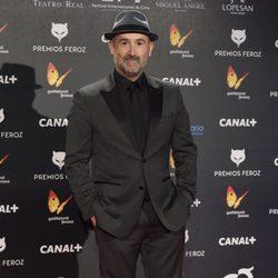 Javier Cámara en la alfombra roja de los Premios Feroz 2015