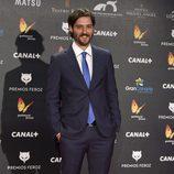 Carlos Marques-Marcet en la alfombra roja de los Premios Feroz 2015