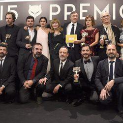 Ganadores de los Premios Feroz 2015