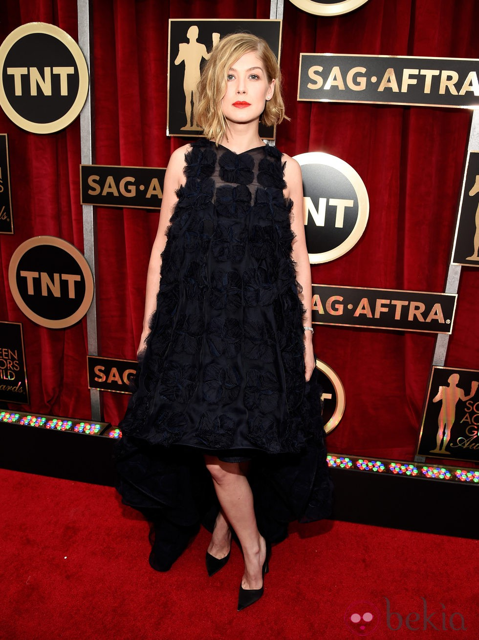 Rosamund Pike en la alfombra roja de los Screen Actors Guild Awards 2015