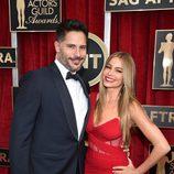 Sofia Vergara y Joe Manganiello en los premios 'Screen Actors Guild Awards 2015'