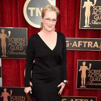 Meryl Streep en la alfombra roja de los Screen Actors Guild awards 2015