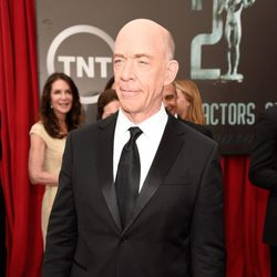 J.K. Simmons en la alfombra roja de los Screen Actors Guild Awards 2015
