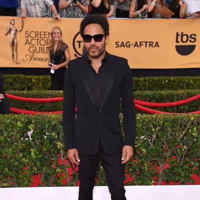 Lenny Kravitz en la alfombra roja de los Screen Actors Guild Awards 2015
