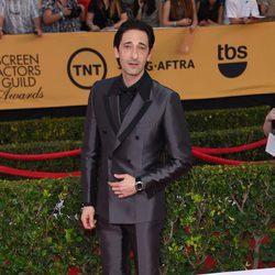 Adrien Brody en la alfombra roja de los Screen Actors Guild Awards 2015