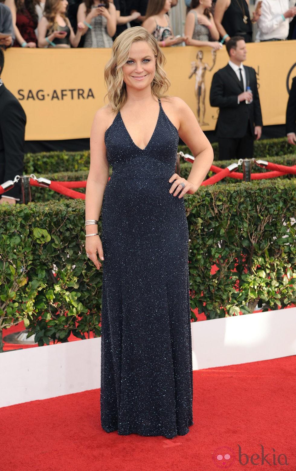 Amy Poehler en la alfombra roja de los Screen Actors Guild Awards 2015