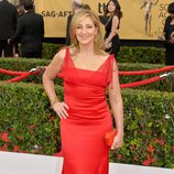 Edie Falco en la alfombra roja de los Screen Actors Guild Awards 2015