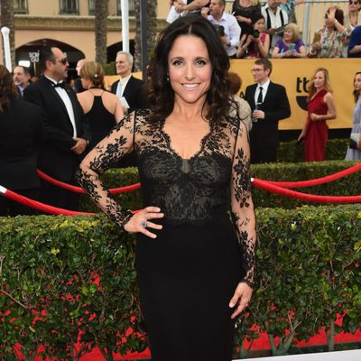 Julia Louis-Dreyfus en la alfombra roja de los Screen Actors Guild Awards 2015
