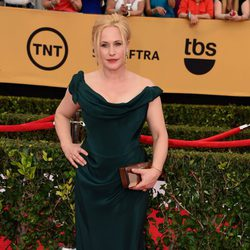 Patricia Arquette en la alfombra roja de los Screen Actors Guild Awards 2015