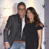 Raquel Bollo y Kiko Hernández en la fiesta de La Fábrica de la Tele