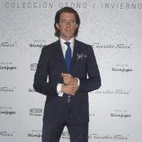 Nicolás Vallejo Nágera en el desfile de Emidio Tucci de Madrid Fashion Show Men otoño/invierno 2015