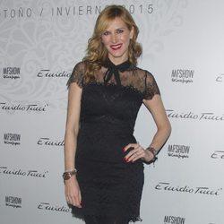 Alejandra Prat en el desfile de Emidio Tucci de Madrid Fashion Show Men otoño/invierno 2015