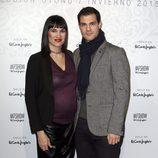Irene Villa y Juan Pablo Lauro en el desfile de Emidio Tucci de Madrid Fashion Show Men otoño/invierno 2015