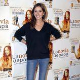 Marina San José en el estreno de la obra de teatro 'La novia de papá'