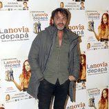 Fernando Tejero en el estreno de la obra de teatro 'La novia de papá'