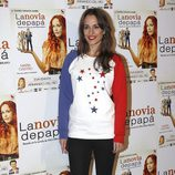 Silvia Alonso en el estreno de la obra de teatro 'La novia de papá'