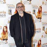 Álex de la Iglesia en el estreno de la obra de teatro 'La novia de papá'