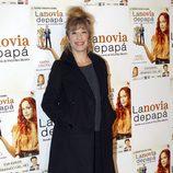 Natalia Seseña en el estreno de la obra de teatro 'La novia de papá'