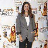 Elena Furiase en el estreno de la obra de teatro 'La novia de papá'
