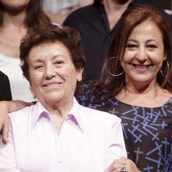 Amparo Baró con Carmen Machi
