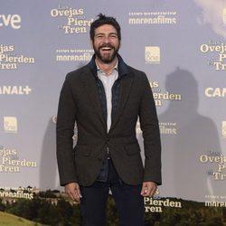 Félix Gómez en el estreno de 'Las ovejas no pierden el tren'