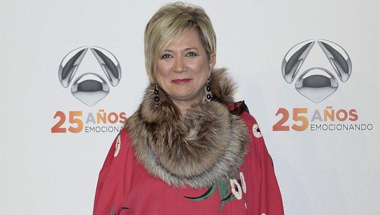 Inés Ballester en la fiesta del 25º Aniversario de Antena 3
