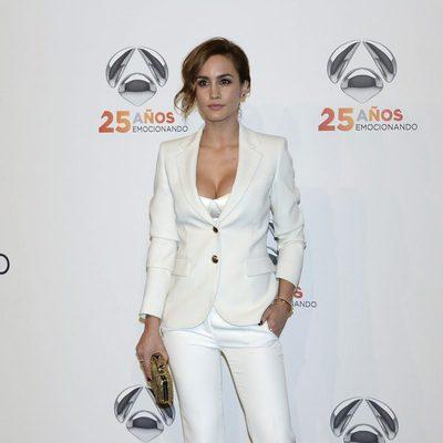 Megan Montaner en la fiesta del 25º Aniversario de Antena 3