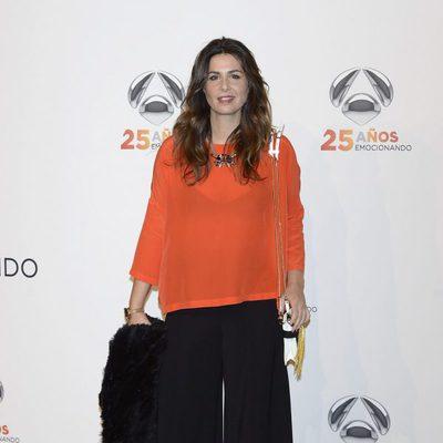 Nuria Roca en la  fiesta del 25º Aniversario de Antena 3
