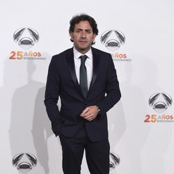 Antonio Garrido en la fiesta del 25º Aniversario de Antena 3