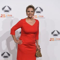Gloria Serra en la fiesta del 25º Aniversario de Antena 3