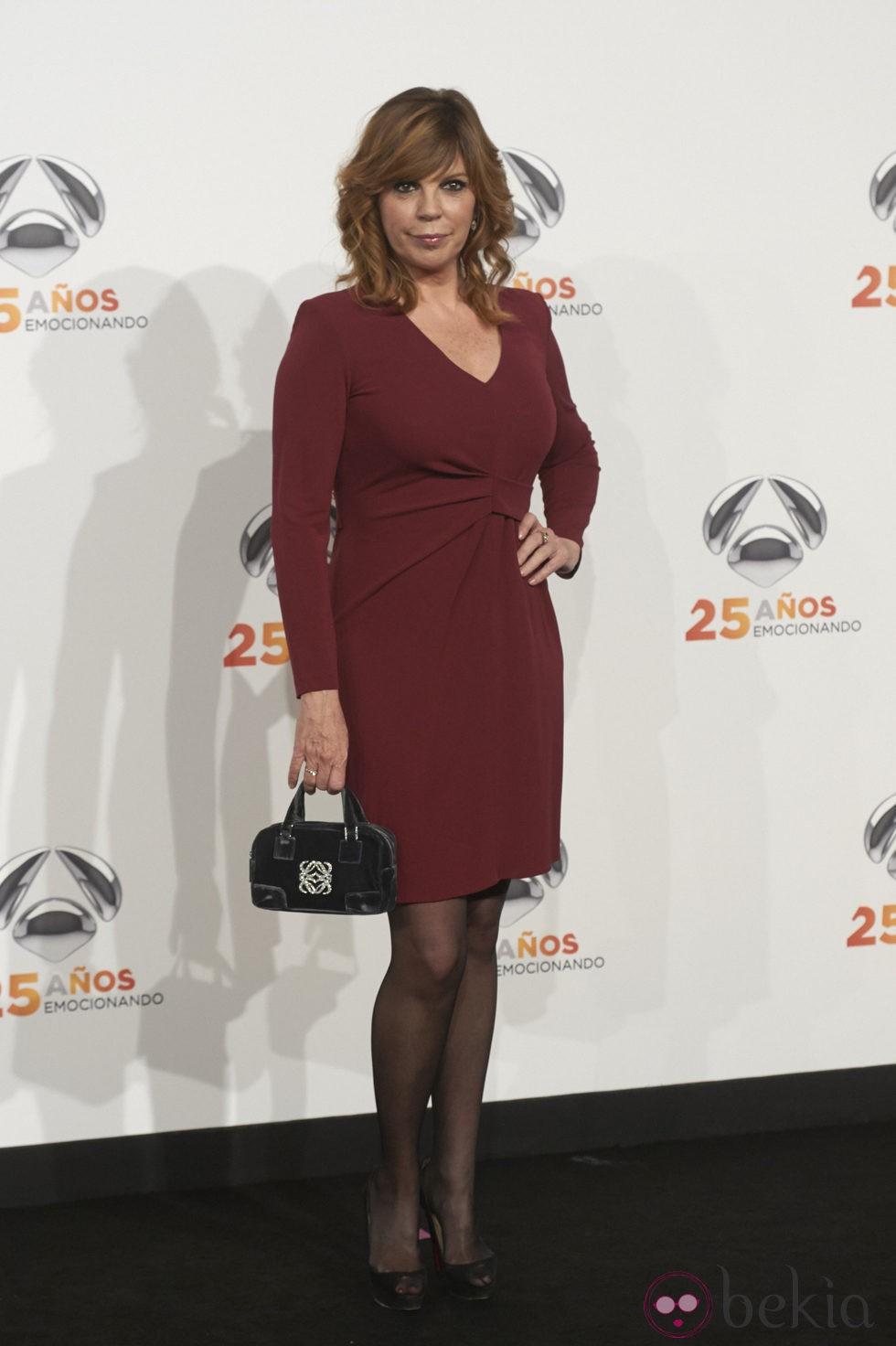 Belinda Washington en la fiesta del 25º Aniversario de Antena 3