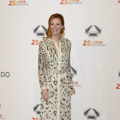 Paula Vázquez en la fiesta del 25º Aniversario de Antena 3