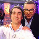 Jorge Javier Vázquez con Jesulín de Ubrique en 'Hay una cosa que te quiero decir'