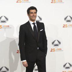 Jorge Fernández en la fiesta del 25º Aniversario de Antena 3