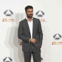 Hugo Silva en la fiesta del 25º Aniversario de Antena 3
