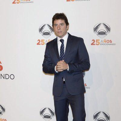 Manel Fuentes en la fiesta del 25º Aniversario de Antena 3