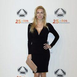 Kira Miro en la fiesta del 25º Aniversario de Antena 3