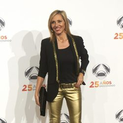 Marta Robles en la fiesta del 25º Aniversario de Antena 3