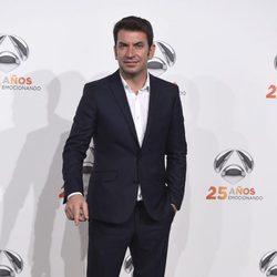Arturo Valls en la fiesta del 25º Aniversario de Antena 3