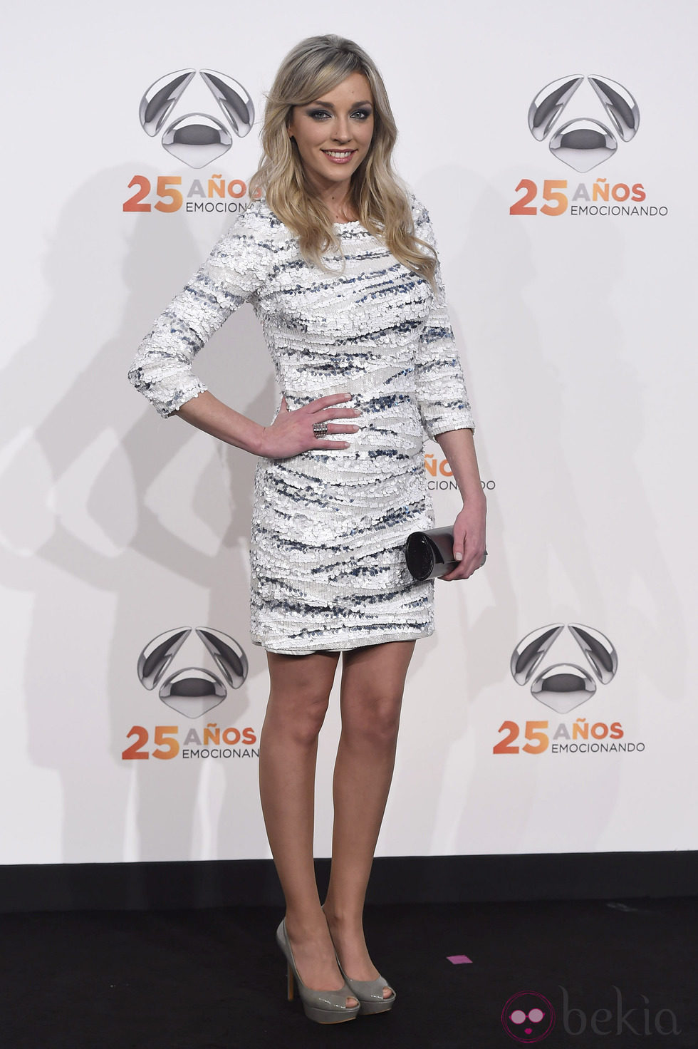 Anna Simon en la fiesta del 25º Aniversario de Antena 3