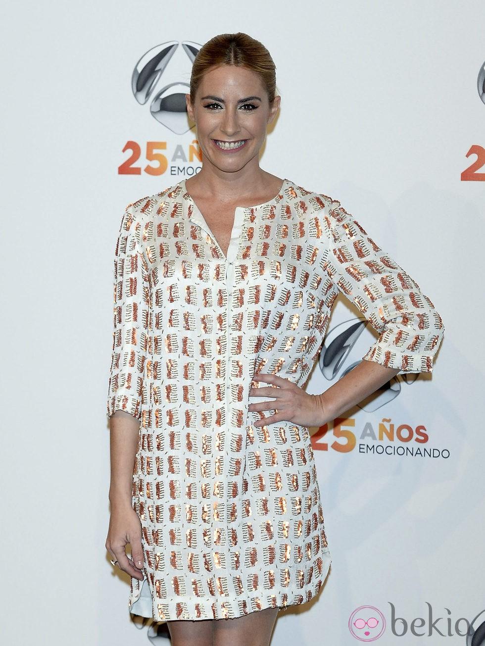 Ainhoa Arbizu en la fiesta del 25º Aniversario de Antena 3