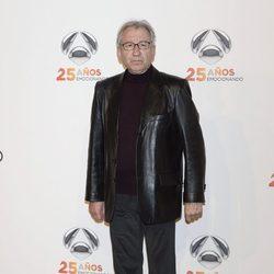 José Sacristán en la fiesta del 25º Aniversario de Antena 3