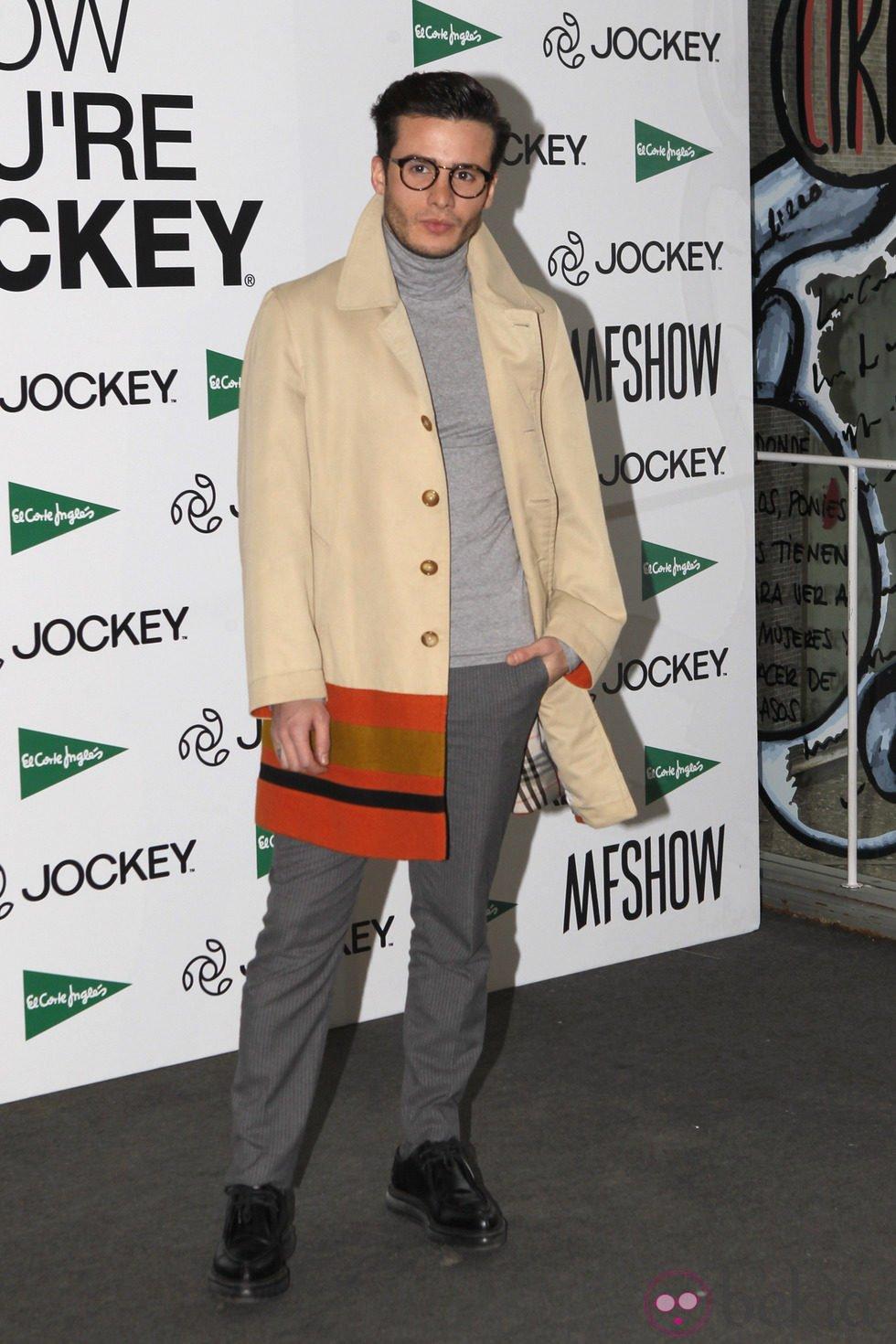 Roi Porto en la Madrid Fashion Show Men otoño/invierno 2015