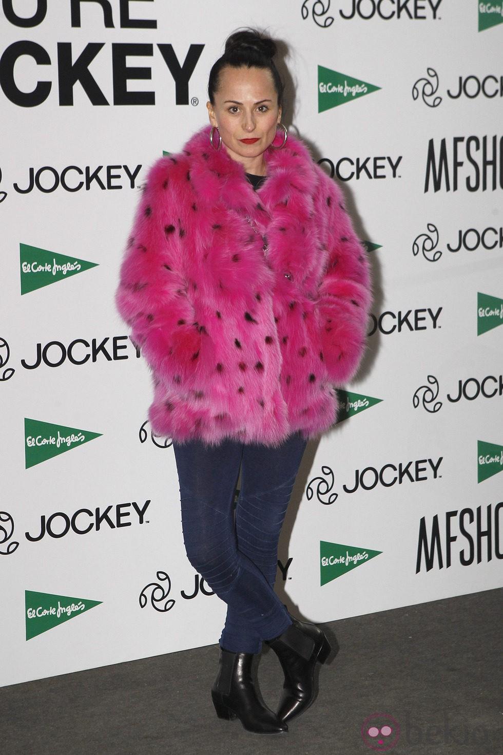María Escoté en la Madrid Fashion Show Men otoño/invierno 2015