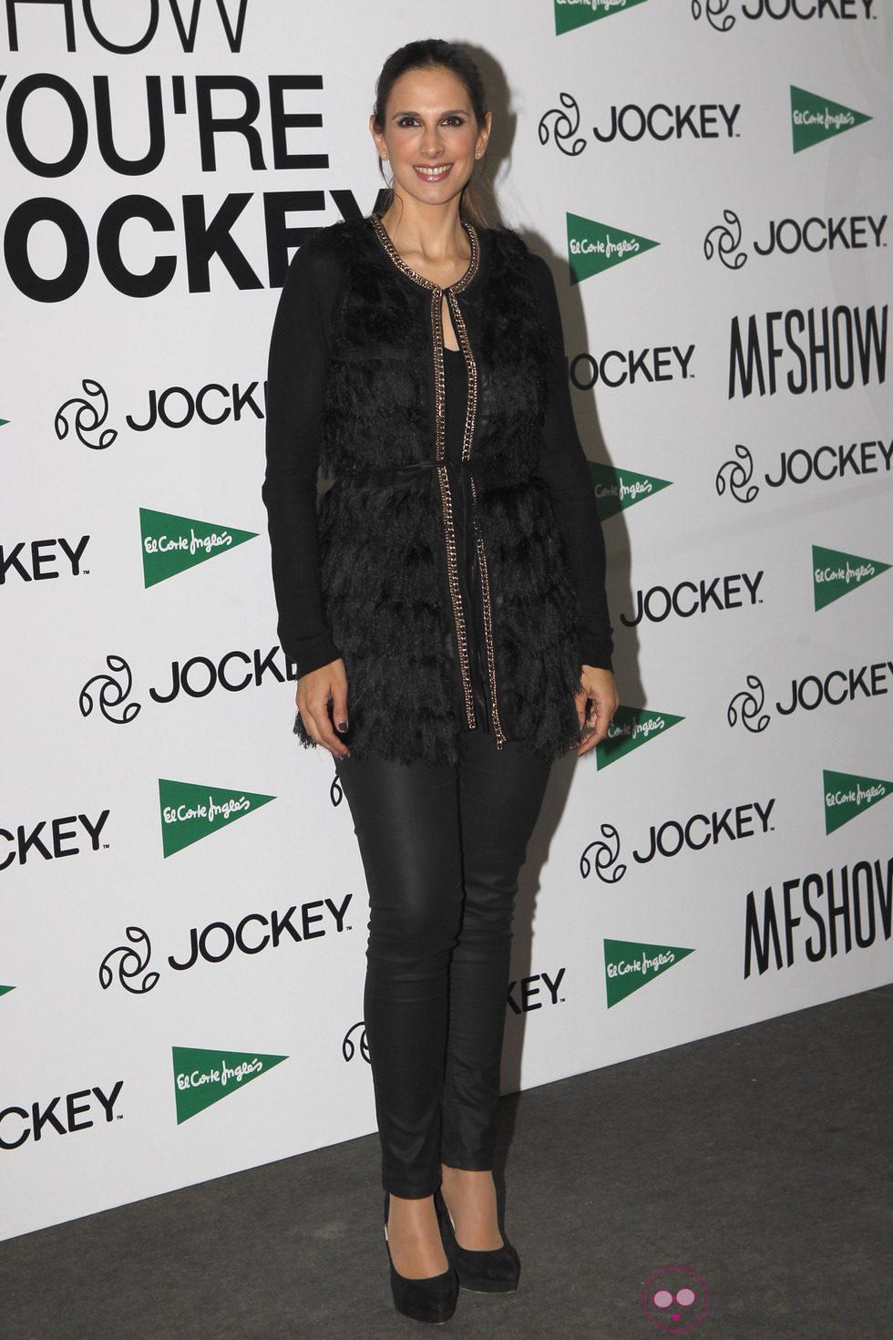Nuria Fergó en la Madrid Fashion Show Men otoño/invierno 2015